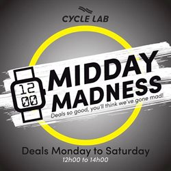 Cycle Lab catalogue in Pretoria ( 3 days left )
