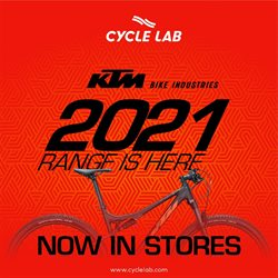 Sport offers in the Cycle Lab catalogue in Cape Town ( 1 day ago )