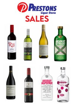Groceries offers in the Prestons catalogue in Pretoria ( Published today )