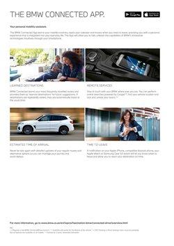 Calendar specials in BMW
