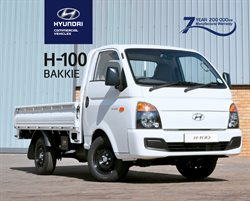 Hyundai deals in the Johannesburg special