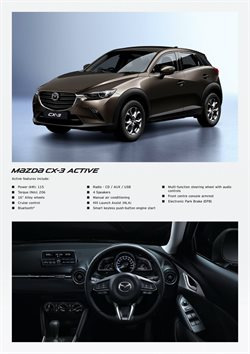 Steering wheel offers in the Mazda catalogue in Cape Town