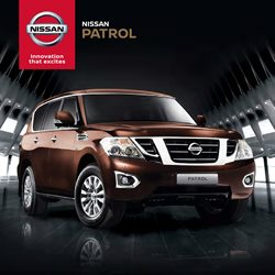 Nissan catalogue in Soweto ( More than a month )