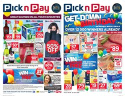 Pick n Pay deals in the Pietermaritzburg special