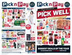 Christmas offers in the Pick n Pay catalogue in Cape Town