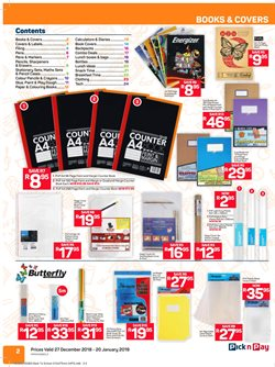 Markers offers in the Pick n Pay catalogue in Cape Town