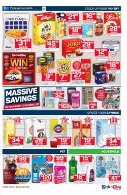 Footwear offers in the Pick n Pay catalogue in Rustenburg