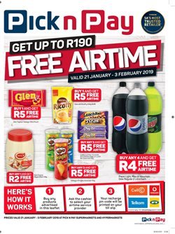 Chocolate offers in the Pick n Pay catalogue in Cape Town