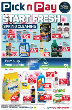 Bleach offers in the Pick n Pay catalogue in Cape Town