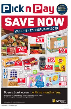 Baby offers in the Pick n Pay catalogue in Cape Town