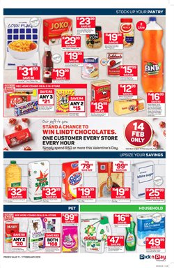 Chips offers in the Pick n Pay catalogue in Cape Town