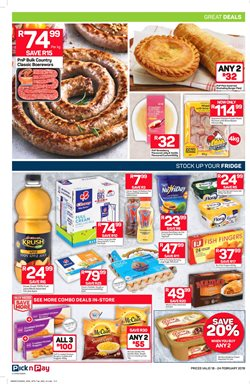Car offers in the Pick n Pay catalogue in Cape Town
