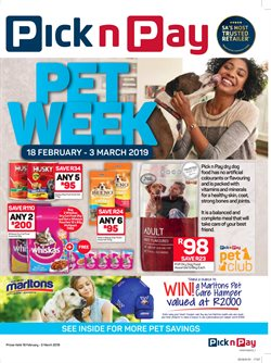 Clothing offers in the Pick n Pay catalogue in Cape Town