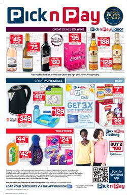 Gel nails offers in the Pick n Pay catalogue in Cape Town