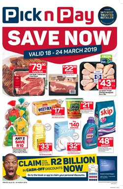 Pick n Pay deals in the Pretoria special