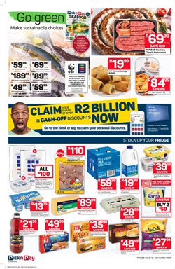 Juice offers in the Pick n Pay catalogue in East London
