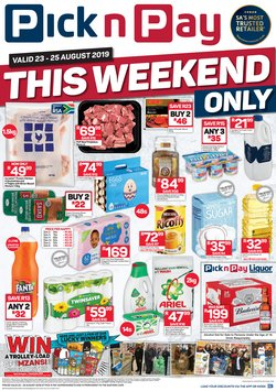 Pick n Pay deals in the Bhisho special