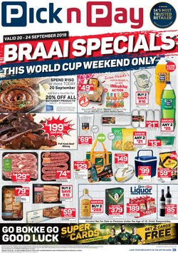 Groceries offers in the Pick n Pay catalogue in Durban