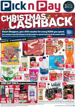 Pick n Pay deals in the Port Elizabeth special
