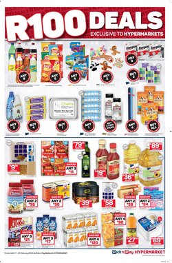 Dog food specials in Pick n Pay