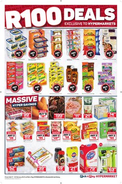 Cakes specials in Pick n Pay
