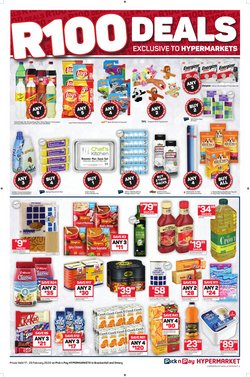 Games specials in Pick n Pay