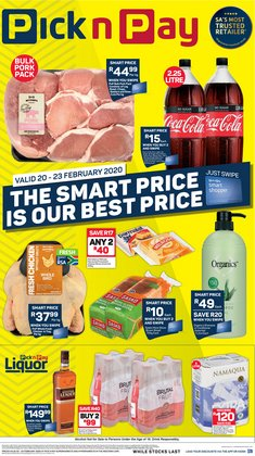 Hair conditioner specials in Pick n Pay