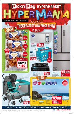 Hisense specials in Pick n Pay