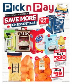 Groceries offers in the Pick n Pay catalogue in Krugersdorp ( Expires tomorrow )