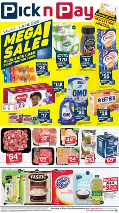 Soap specials in Pick n Pay