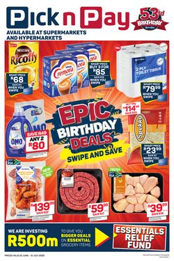 Pick n Pay catalogue in Soweto ( 6 days left )
