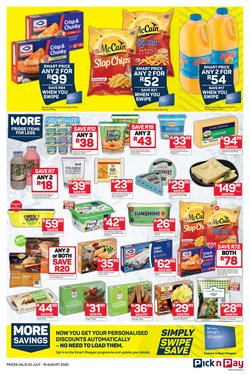 Yogurt specials in Pick n Pay