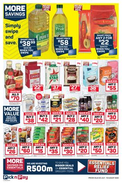 Macaroni specials in Pick n Pay