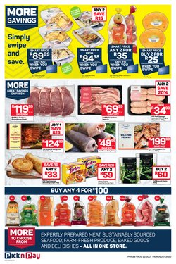 Sausage specials in Pick n Pay