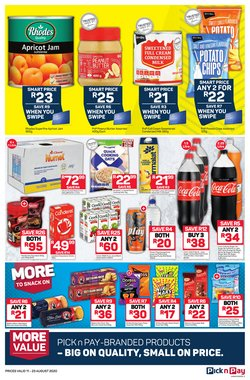 Chocolate specials in Pick n Pay