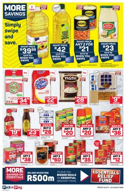 Baked beans specials in Pick n Pay