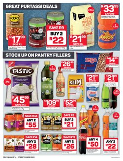 Ceiling fan specials in Pick n Pay