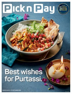Pick n Pay catalogue ( 8 days left)