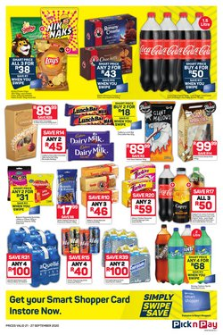 Route 66 specials in Pick n Pay