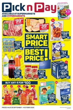 Groceries offers in the Pick n Pay catalogue in Cape Town ( 1 day ago )