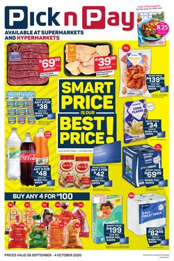 Groceries offers in the Pick n Pay catalogue ( 3 days left )