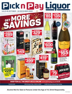 Pick n Pay catalogue ( More than a month )