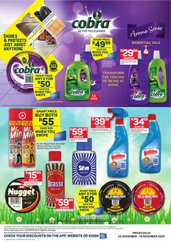 Floors specials in Pick n Pay