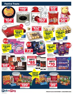 Lindt specials in Pick n Pay
