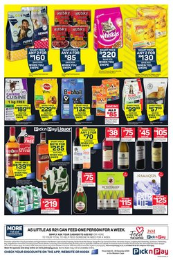 CAT specials in Pick n Pay