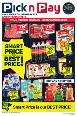 Omo specials in Pick n Pay