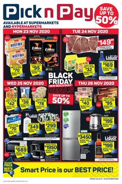 Shoes specials in Pick n Pay