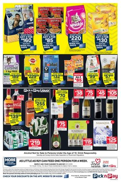 Catmor specials in Pick n Pay
