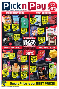 Groceries offers in the Pick n Pay catalogue ( Published today)