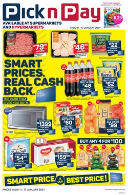 Groceries offers in the Pick n Pay catalogue in Pretoria ( 2 days left )